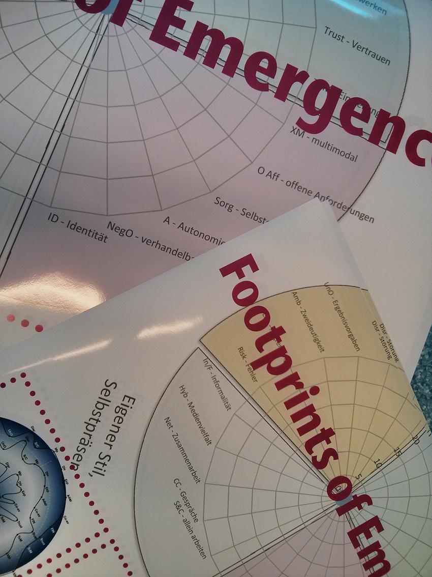 footprints of emergence – Überlegungen zum Workshop bei gmw13